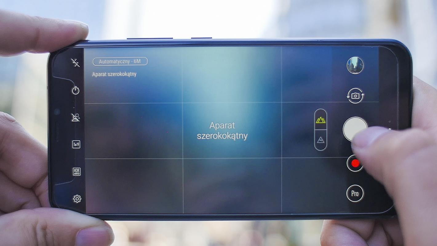 ZenFone 5 Obiektyw szeroki kąt